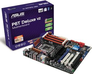 Фото: Asus P6T Deluxe V2 + іntel Core i7-920 2. 66